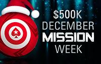 $500,000 December Mission Week