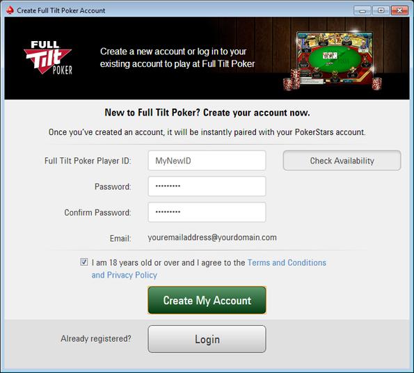 How do i play for real money on full tilt poker