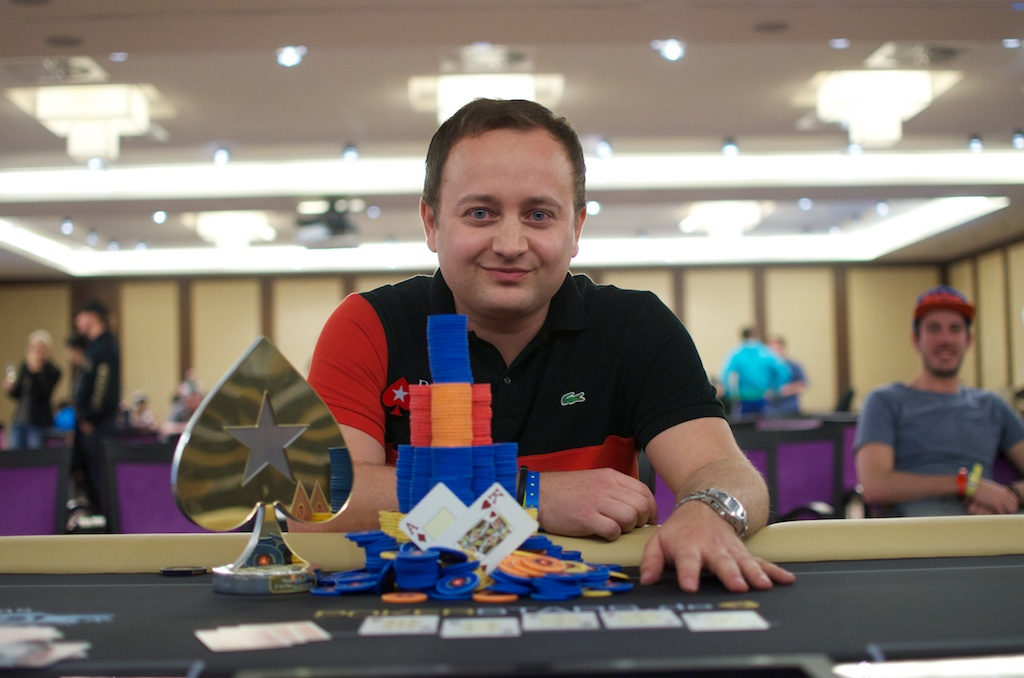 Marius Pospiech - PokerStars Snowfest Main Event winner