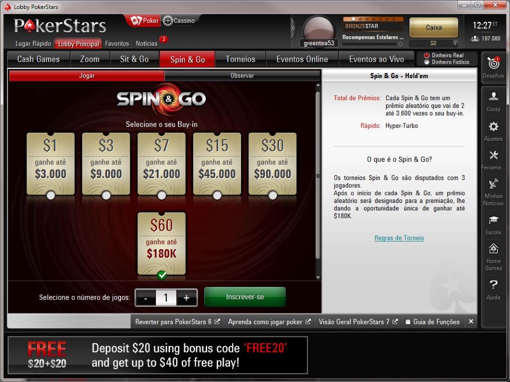 Como jogar poker star com dinheiro real