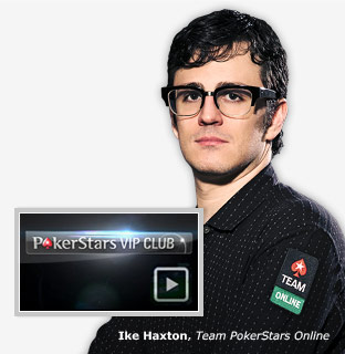 Ike Haxton, Team PokerStars Online