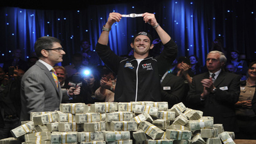 WSOP 2009 November Nine - Joe Cada WSOP Champion