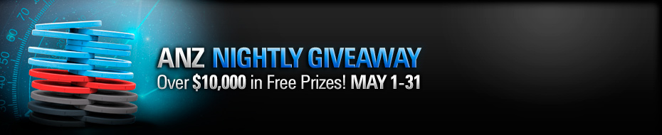 ANZ Nightly Giveaway