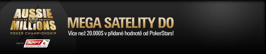 Aussie Millions 2014 Satellites