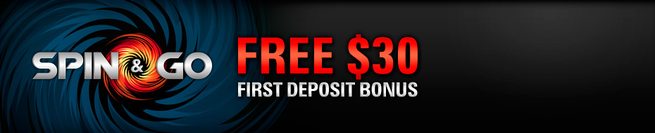 Free $30 Spin & Go Bonus