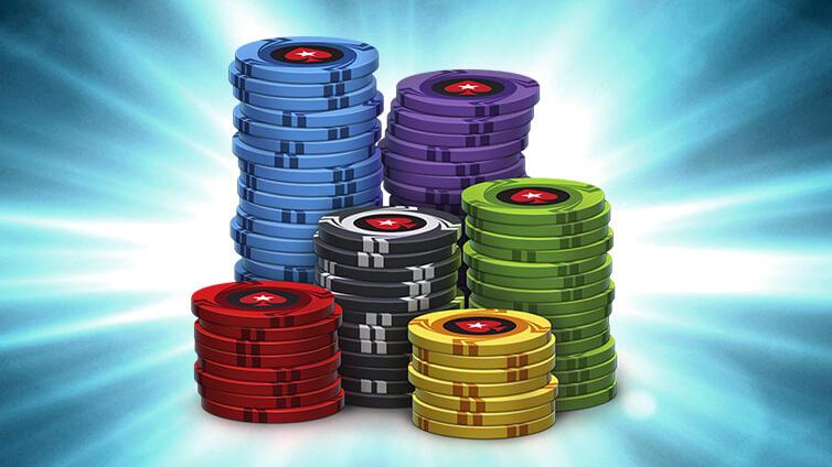 Adquiere fichas de dinero ficticio en PokerStars