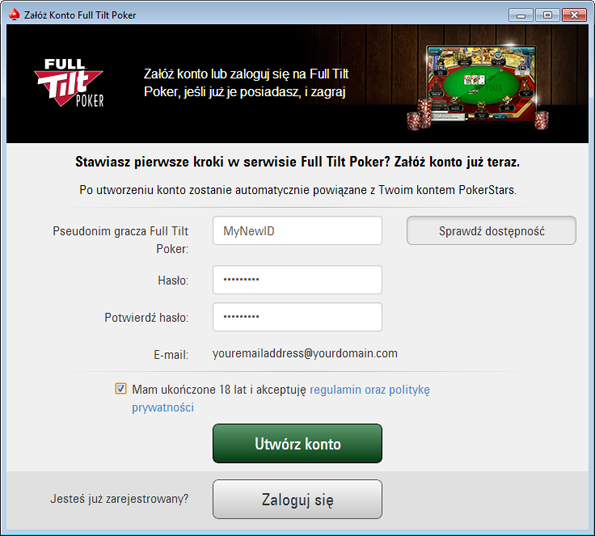 pokerstars konto