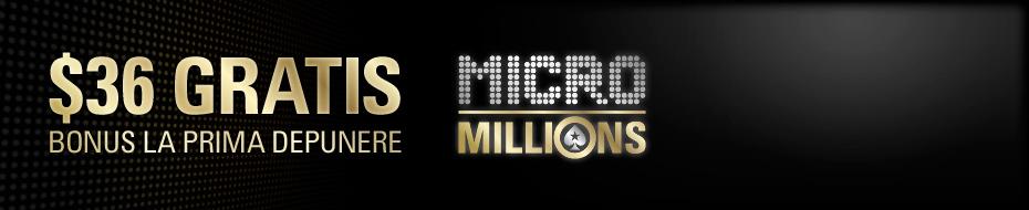 MicroMillions Deposit