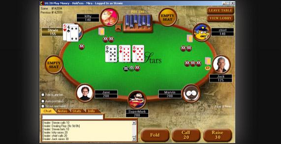 Slik så PokerStars ut i 2001!