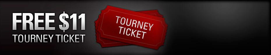 Free $11 Tournament Ticket