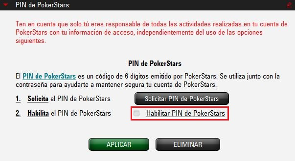 Disable BetStars pin