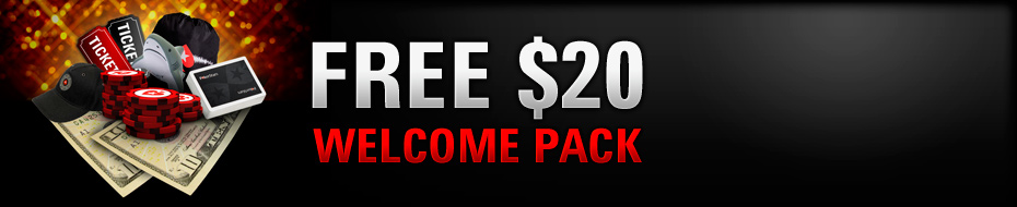 Free $20 Welcome Pack
