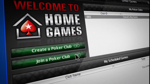 online home game poker